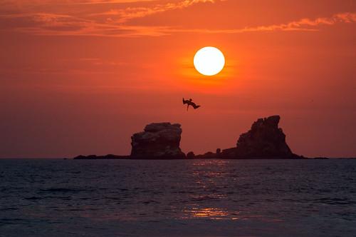 ecuador goldenhour ayampe manabiprovince