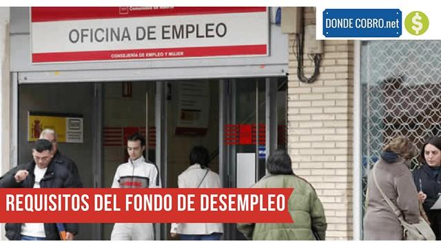 Requisitos del Fondo de Desempleo