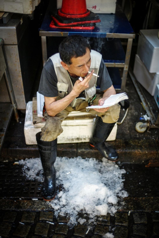 風情文化/探访世界上最具传奇色彩的东京築地魚市 Tsukiji Fish Market13