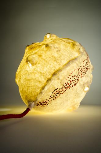 Lampe en céramique de Sophie Luline