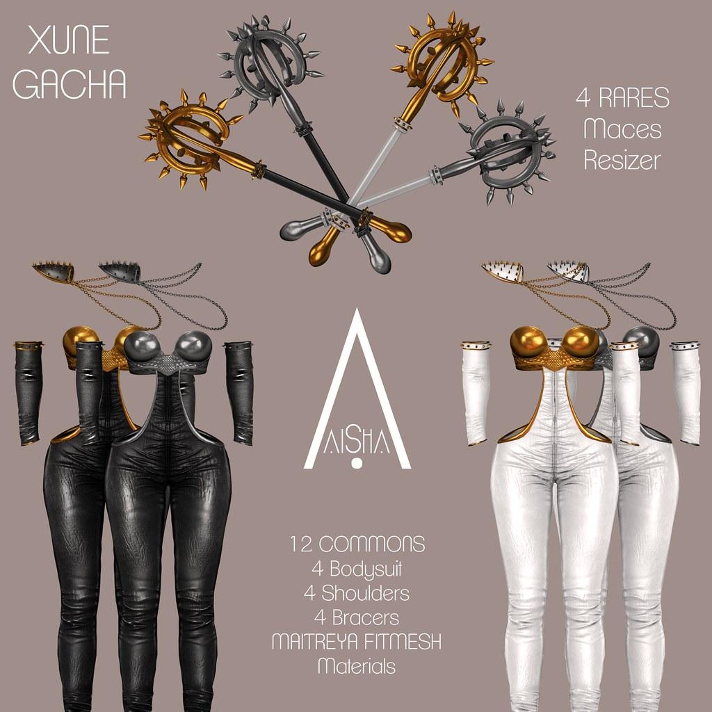 .AiShA. Xune Gacha Key @ FGC - SecondLifeHub.com