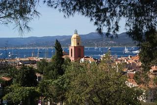 Saint Tropez France - Meerblick