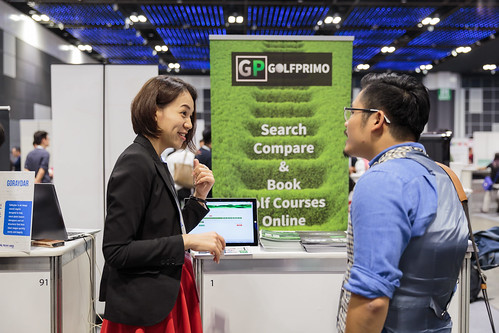 Golfprimo at Tech in Asia Singapore 2015