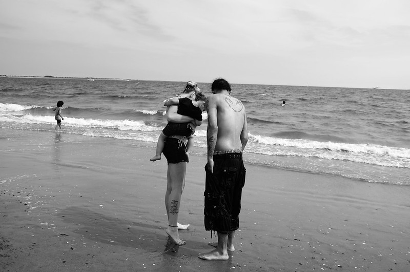Brighton Beach Couple 2015