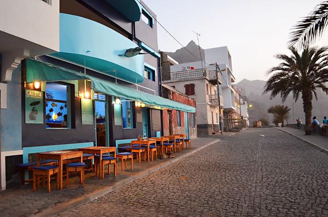 Caleta Restaurant, Punto do Sol, Santo Antao, Cape Verde