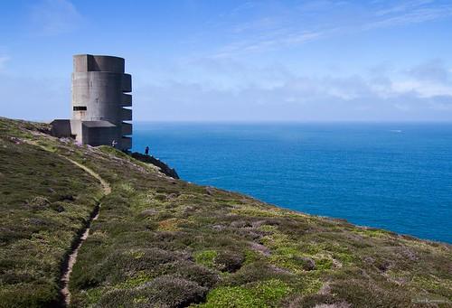 sea mer meer wwiigermannavaltoweratlantikwallbunker 2èmeguèremondiale zweiterweltkriegfortificationbétonbeton concretemarinepeilstandundmesstellung