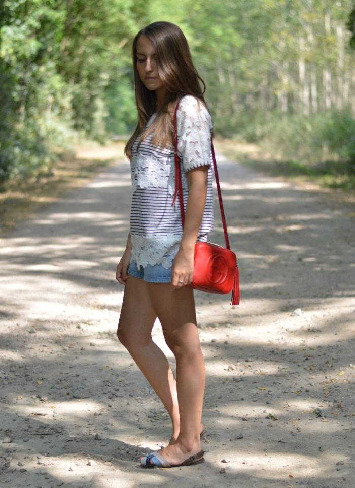 righe e pizzo, wildflower girl, fashion blog, estate (8)