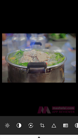 VSCOcam Edit Image