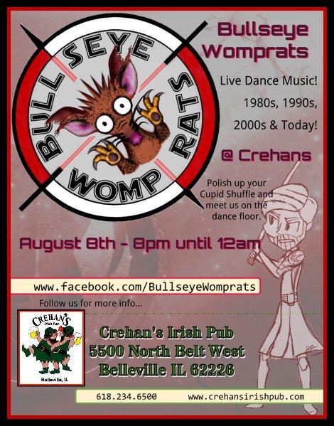 Bullseye Womprats 8-8-15