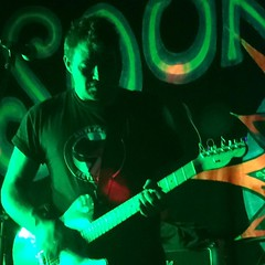 rock concert, stage, green,