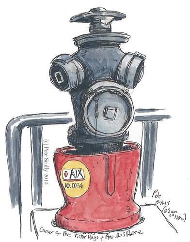 Aix-en-Pce hydrant