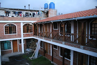Hostel Chukirawa.  Quilotoa, Ecuador.