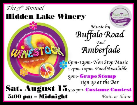 Hidden Lake Winery 8-15-15
