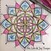 Hand Drawn Mandala, 2015 by wdougallart