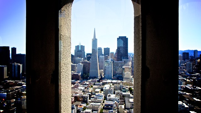 Coit Tower In San Francisco California Uponarriving