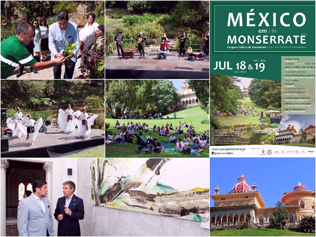 "Programa cultural: ""México en Monserrate 2015"", Portugal"