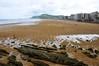 Playa Lunático de Zarautz