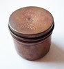 "Vintage ""S.S. TITANIC"" Round Brass Box Tin - Fantasy Piece by Lowell Sigmund 1970s"