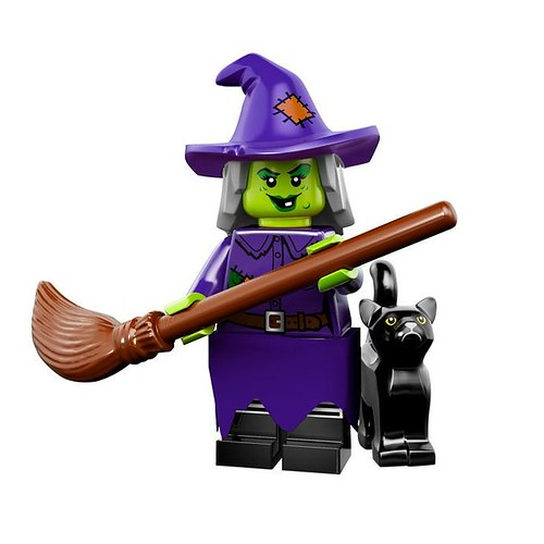 LEGO 71010 Collectible Minifigures Series 14 04 - Wacky Witch
