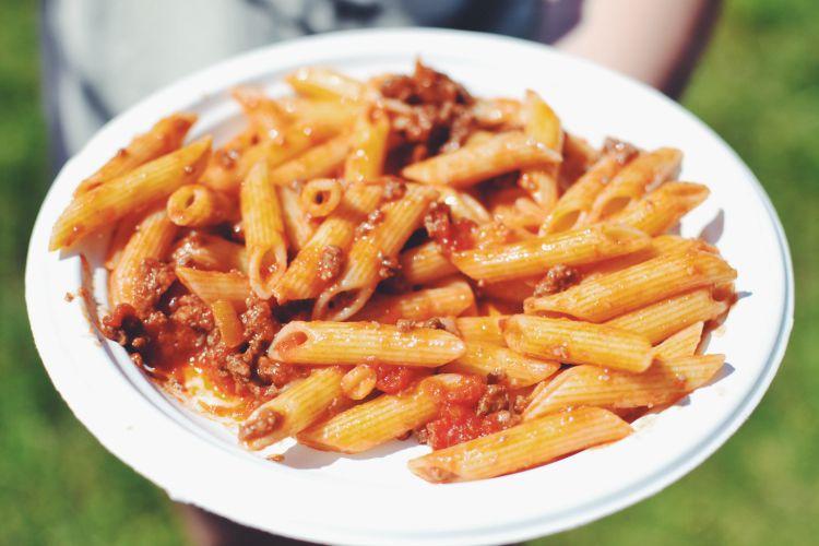 Camp Bestival pasta
