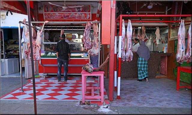 a Sidi Ifni butcher