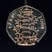 Small photo of Kew Gardens rare 50 pence piece