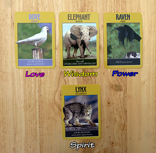 Heart Flame Power Animals