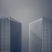 Towers Blue by Darren LoPrinzi