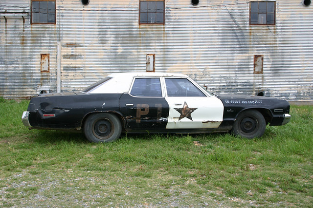 Old Police Car, Shack Up Inn, Clarksdale MS