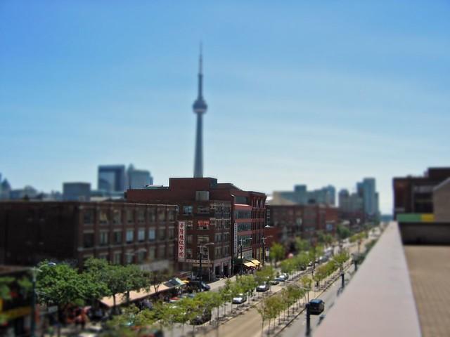 Toronto's Chinatown - Tilt Shifted!