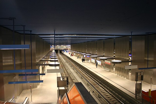Munich's U-Bahn Station
