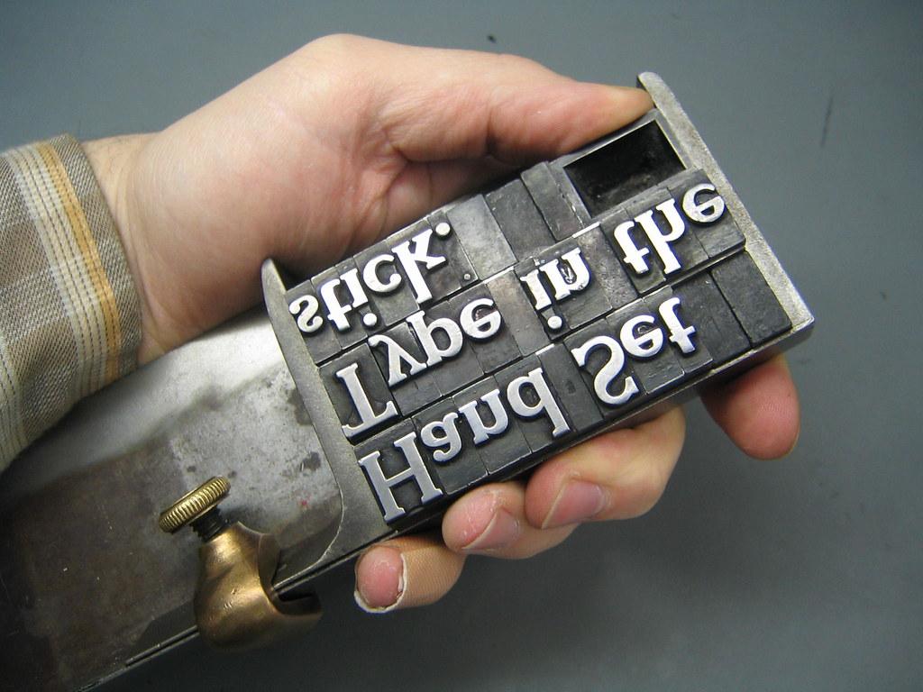 Hot Metal Typesetting