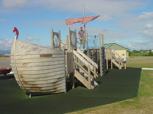 Pirate Ship Park - Fernlea, Palmerston North, New Zealand