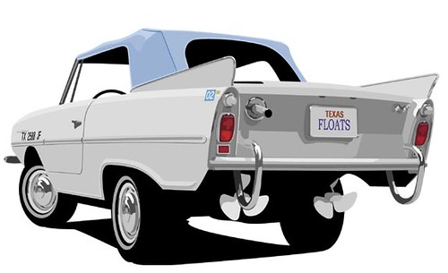 Amphicar by boogerballs