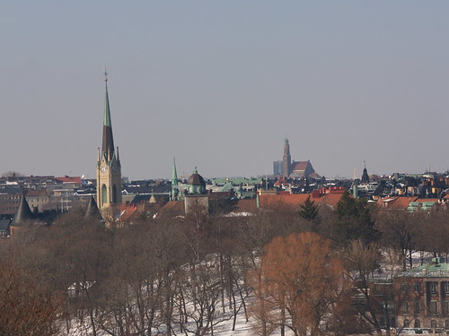 Stockholm skyline from Djurgården