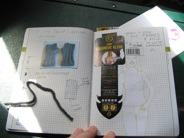 Knitting Project Journal : Knitting journal pt flickr photo sharing