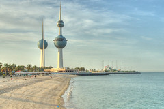 Kuwait Towers_HDR