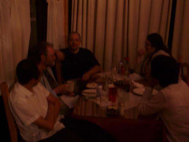 my family and slavek amp cara at zorba s flickr   photo sharing