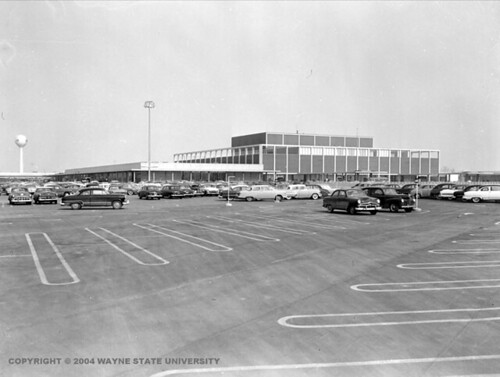Northland Shopping Center, Southfield, Michigan, 1954