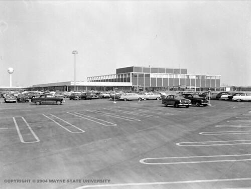 Northland Shopping Center, Southfield, Michigan, 1954