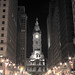 William Penn at Night