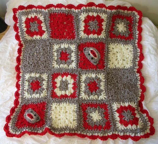 FO: Sock Monkey Blanket Flickr - Photo Sharing!
