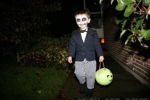 jack skellington and candy basket