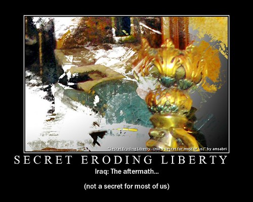 Secret Eroding Liberty