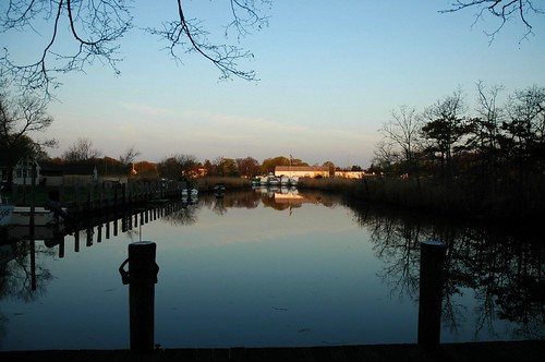 The Canal, early morning sunrise by Alida's Photos