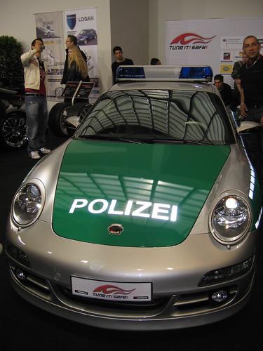 Polizei-Porsche 911