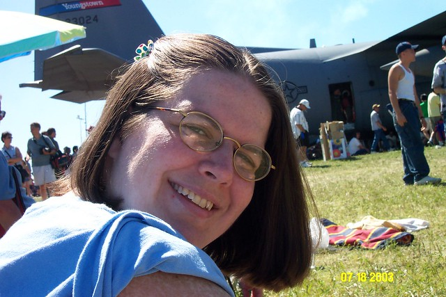 Diana At The Air Show