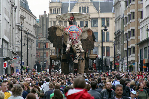An Elephant On Haymarket