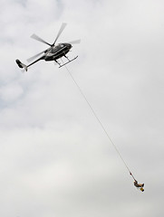 Helicopter Ride dangerous job