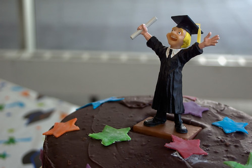 Graduation Cake Guy by David Goehring